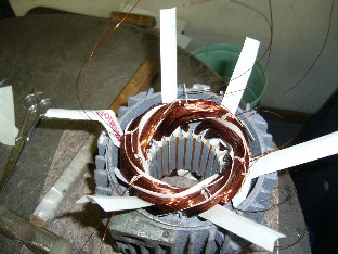 Rewinding of Motors